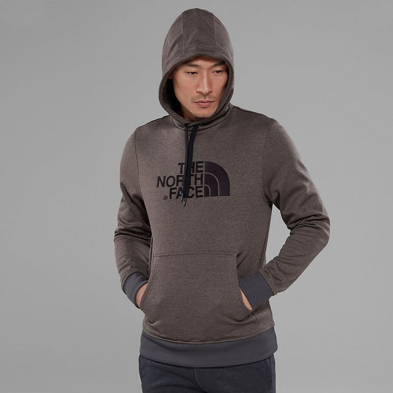 Felpe Con Cappuccio The North Face Mc Drew Peak 7513ASB Uomo - Marrone