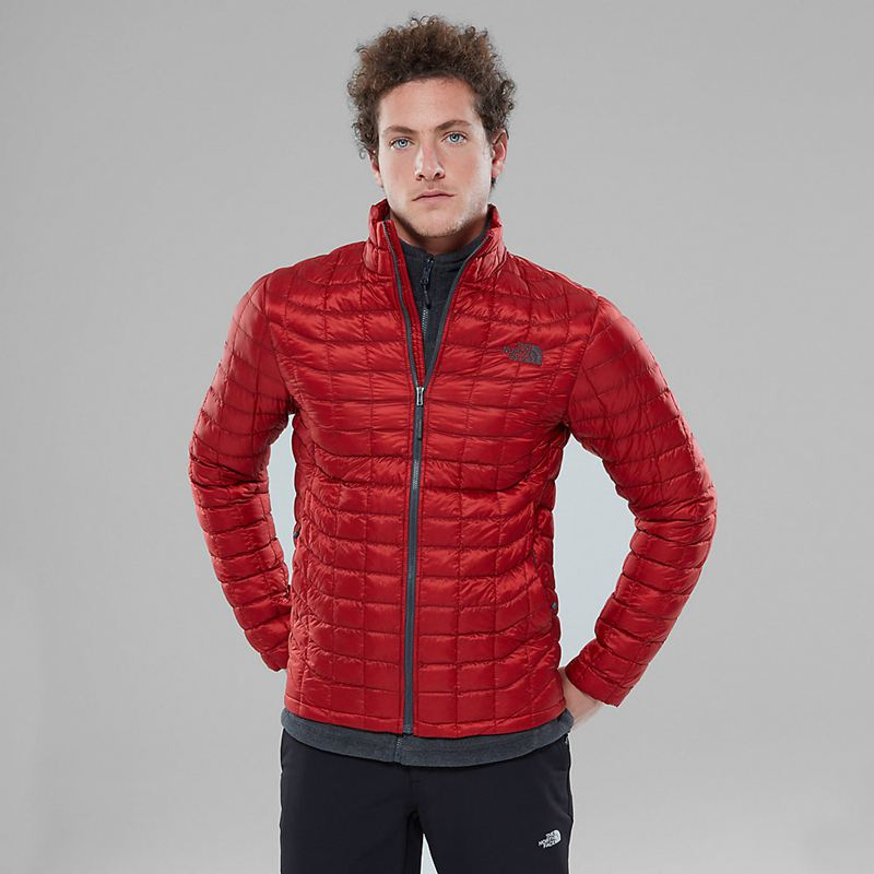 Giacche Isolanti The North Face Thermoball Full Zip 2457LTR Uomo - Rosso