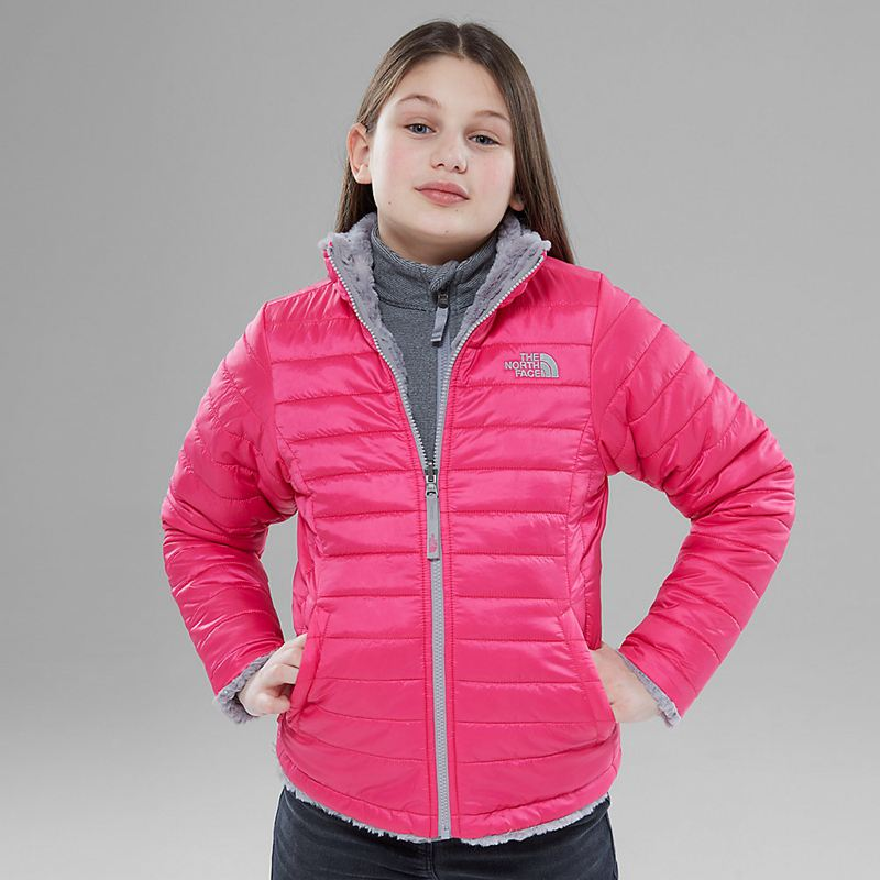 Giacche The North Face Reversible Mossbud Swirl 9944SOS Ragazze - Rosa
