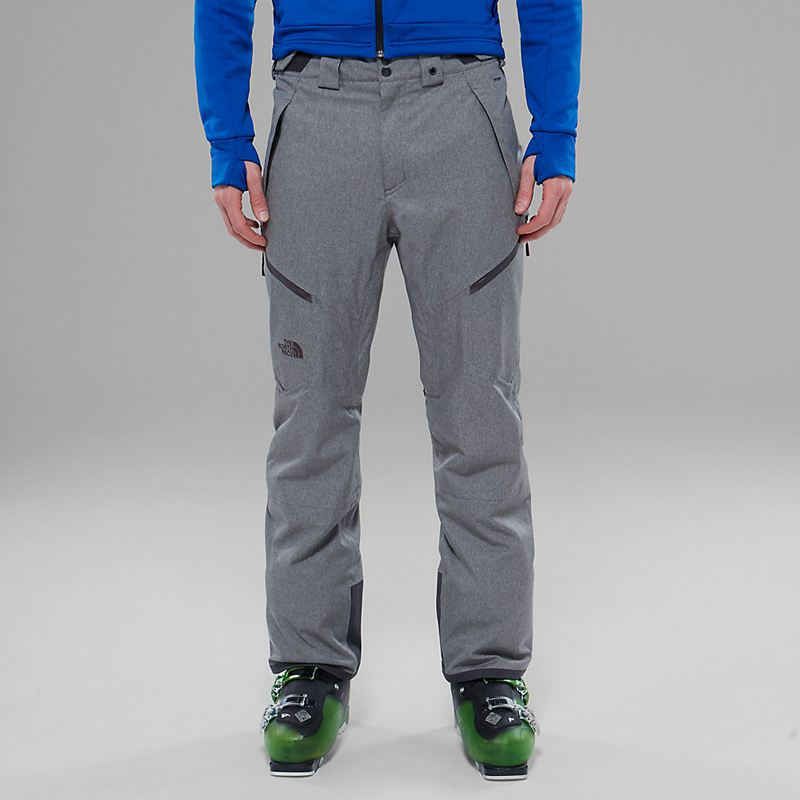 Pantaloni Da Sci The North Face Chakal 3682ZUG Uomo - Grigio